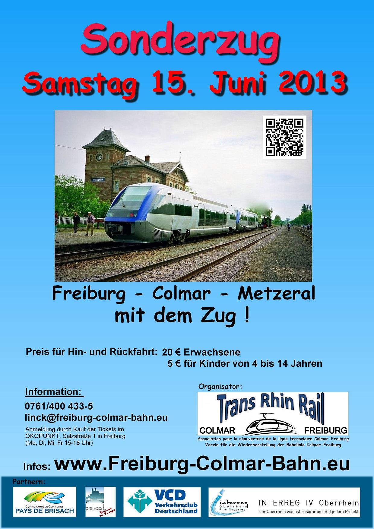 Train exceptionnel 2013 affiche Freiburg petit