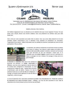 Bulletin infos 5 TRR